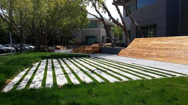Tech artificial grass install