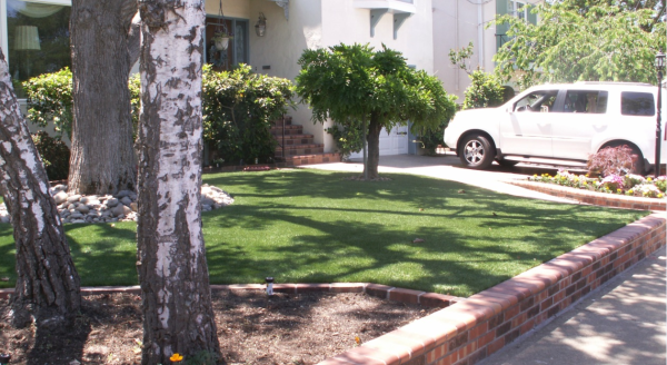 artificial turf installation at your home