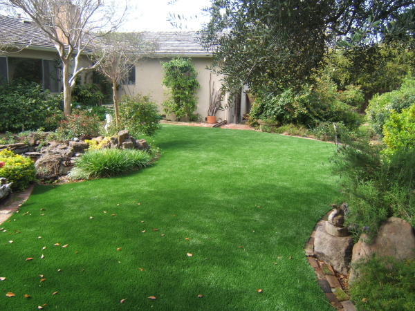 Artificial Turf lawn may solve your drainage problems