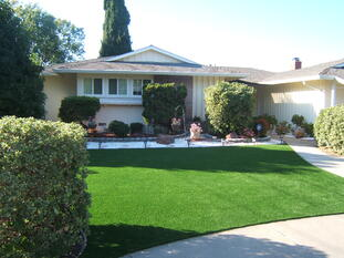 Learn how to fix a problematic yard with an artificial lawn
