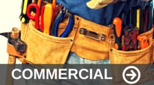 Tool belt to show to show how you can use artificial turf for commercial uses