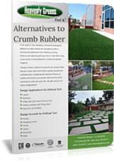crumber rubber alternatives for artificial grass
