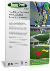 fall protection of artificial turf