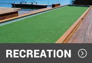 artificial grass on recreation fields