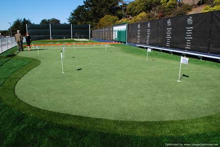 artificial turf putting green