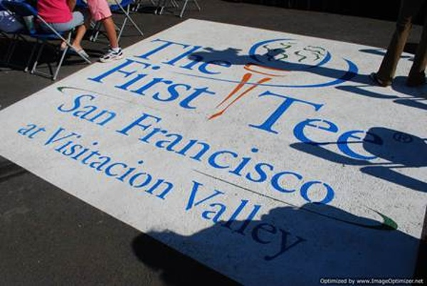 Sign of First Tee of San Francisco