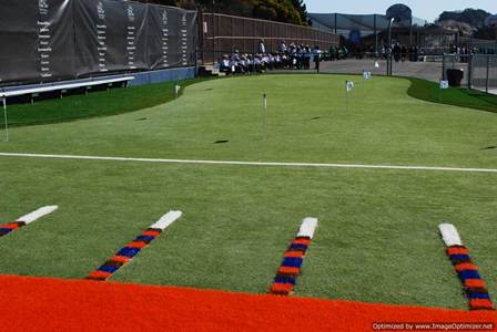 artificial turf for driving ranges and putting green