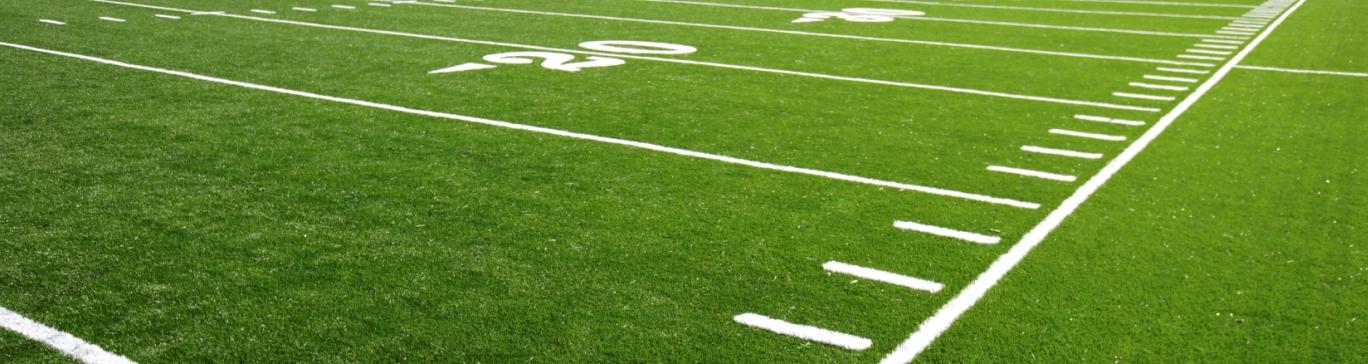 field turf for a sports field