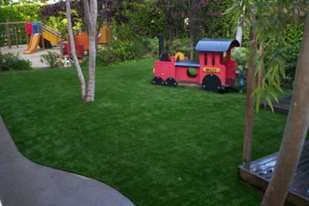 artificial turf for kids on playgroud