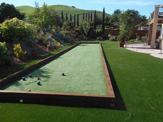 Backyard Bocce Ball bocce ball court l recreational artificial turf