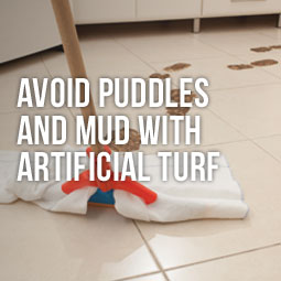 Avoid Puddles And Mud With Artificial Turf http://www.heavenlygreens.com/avoid-puddles-and-mud-with-artificial-turf @heavenlygreens