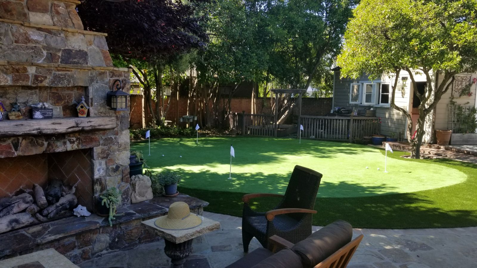 Putting Green with outdoor patio San Jose