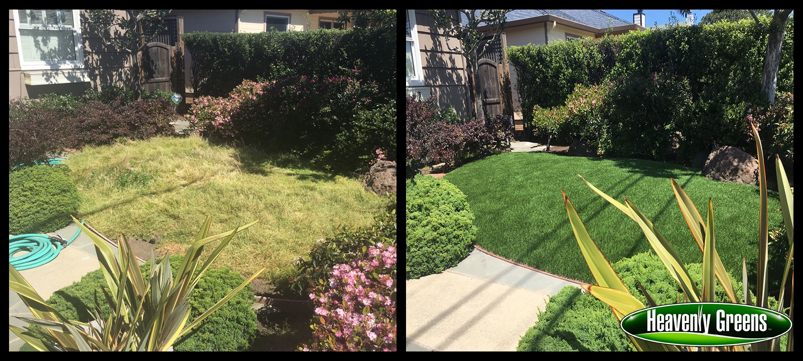 San Mateo before and after