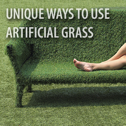 person-on-fake-grass-covered-lounge