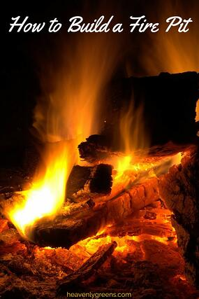 how to Build a Fire Pit  http://www.heavenlygreens.com/blog/how-to-build-a-fire-pit @heavenlygreens