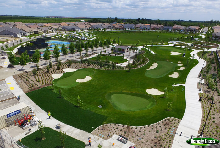 synthetic grass installations for recreational areas