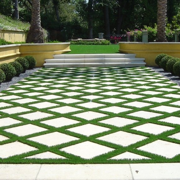 designing with synthetic turf