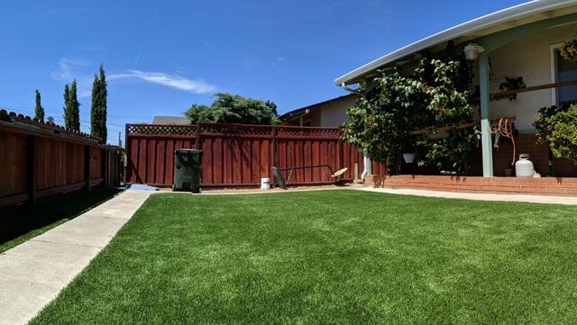 outdoor artificial grass landscape