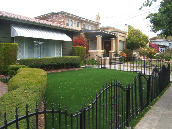 Lawn in alameda, California