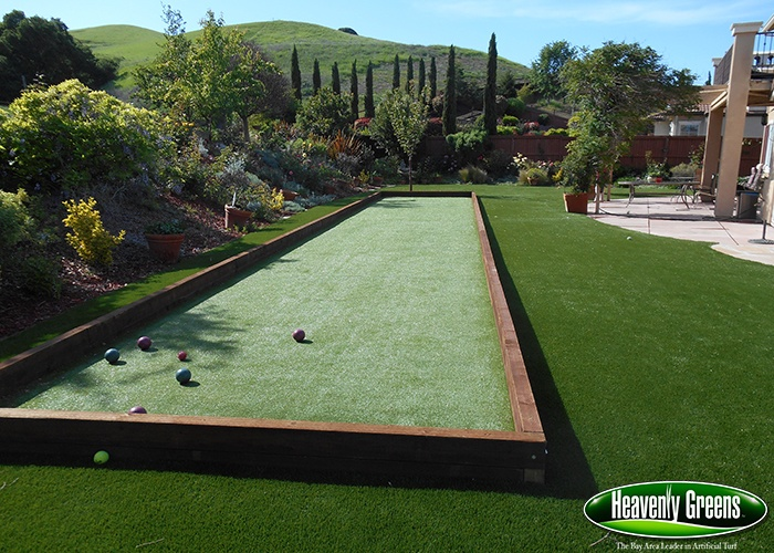 Backyard Bocce Ball Court