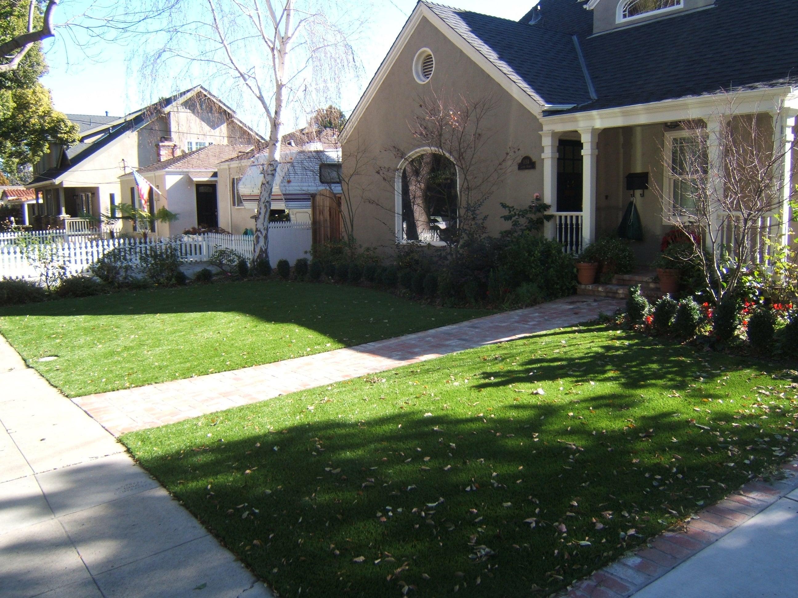Willow Glen Front Yard
