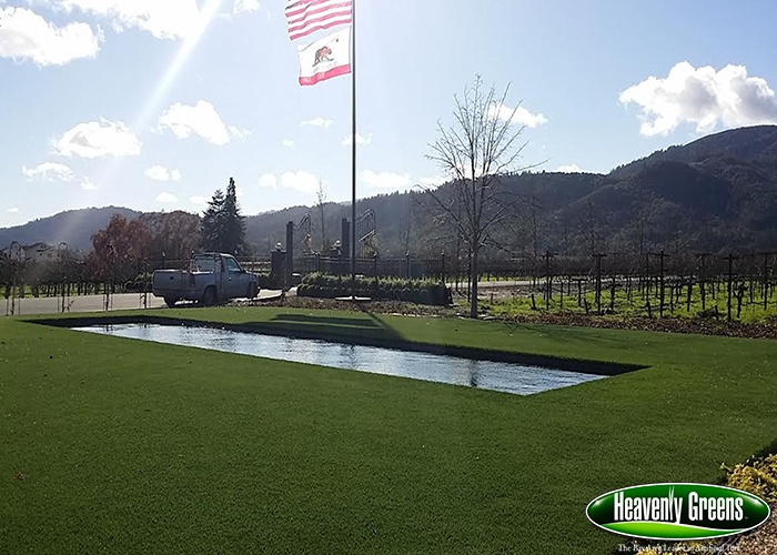artificial grass outdoor living