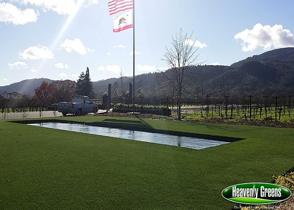 artificial grass outdoor living