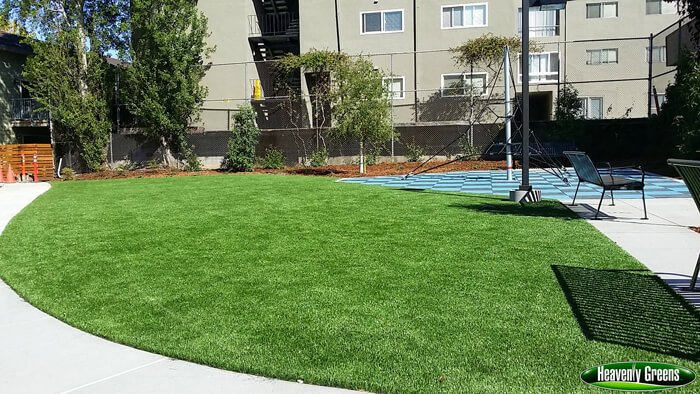 Gallery of Artificial Grass on Commercial Common Areas and