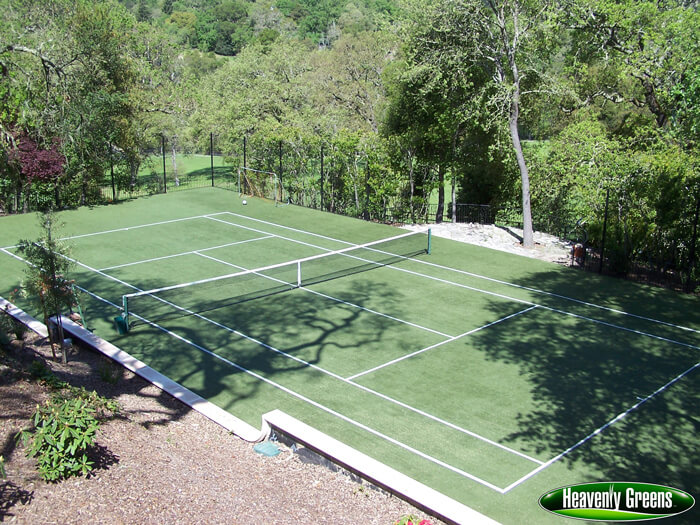 artificial turf tennis courts