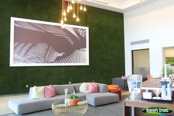 Artificial Grass on Walls