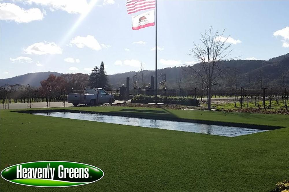 artificial grass for outdoor living